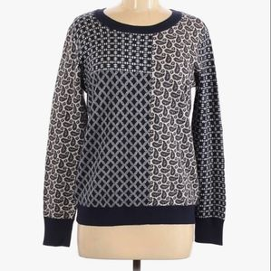Joie pullover sweater wool cashmere blue small